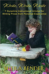 sheila bender writing publishing personal essays Writers use the letter form in writing personal essays, poems, creative  i am an  avid fan of jane friedman's blog on writing and publishing.